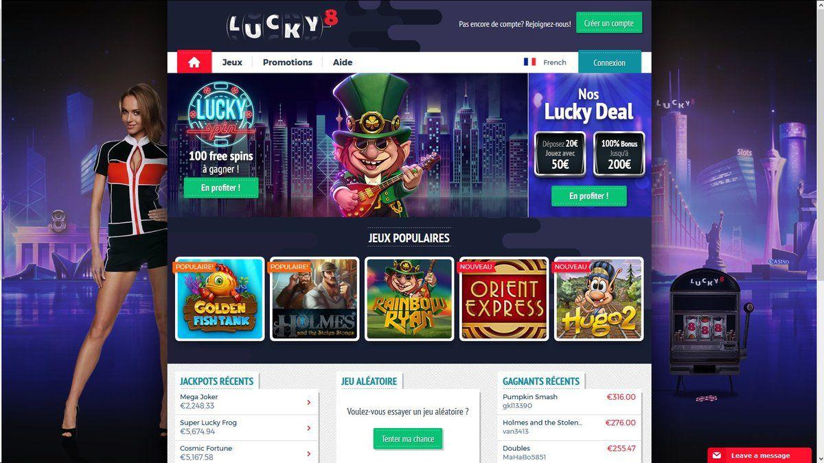 lucky8 avis